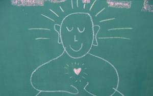 Chalkboard compassion