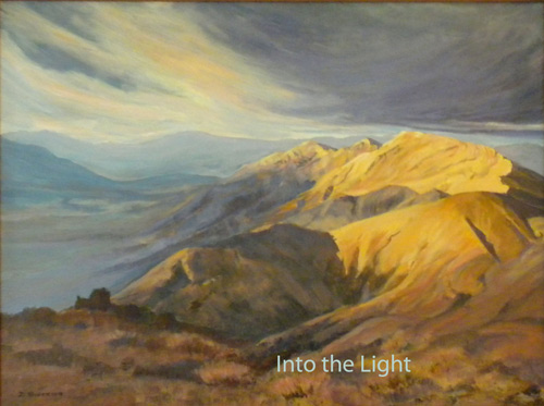 Into the Light by Deborah Stevenson all rights reserved